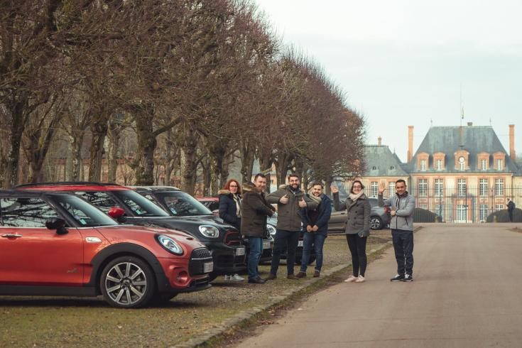 client mini en roadtrip