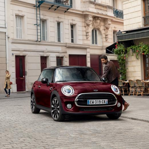 MINI HATCH ÉDITION PURE BURGUNDY